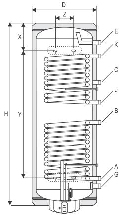 Теплообменник кожухотрубный диаметр 200 где купить теплообменник для газового котла беретта
